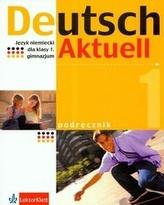 Deutsch Aktuell 1 podręcznik z płytą CD język niemiecki