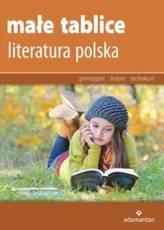 Małe tablice. Literatura polska. Gimnazjum / technikum / liceum