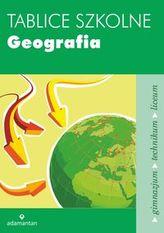 Tablice szkolne. Geografia. Gimnazjum / technikum / liceum