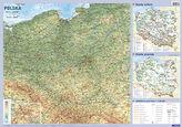 Polska. Mapa ścienna