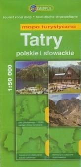 Tatry polskie i słowackie. Mapa turystyczna 1 : 50 000