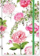 Notatnik midi - ogród róż
