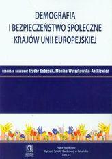 Demografia i bezpieczeństwo społeczne krajów Unii Europejskiej