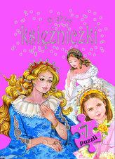 Piękne księżniczki 7 puzzli