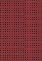 Zeszyt B5 Paper-oh Quadro w linie 56 kartek Red on Black