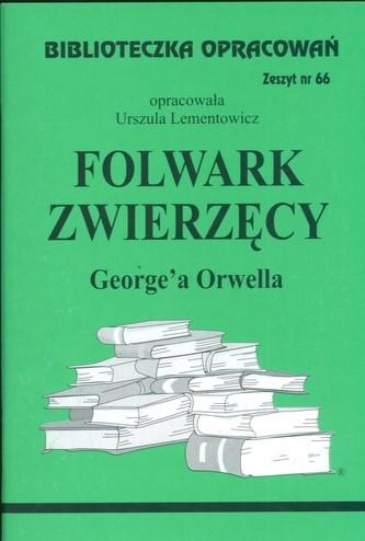 Biblioteczka Opracowań Folwark zwierzęcy George