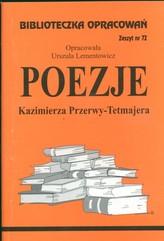 Biblioteczka Opracowań Poezje Kazimierza Przerwy-Tetmajera