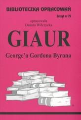 Biblioteczka Opracowań Giaur George