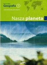 Nasza planeta. Klasa 1, gimnazjum. Geografia. Zeszyt ćwiczeń