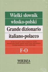 Wielki słownik włosko-polski F-O