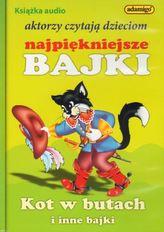 Kot w butach i inne bajki. Książka audio - aktorzy czytają dzieciom najpiękniejsze bajki