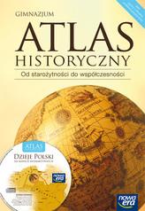 Atlas historyczny. Gimnazjum. Od starożytności do współczesności. Dzieje Polski(+ CD)