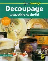 Decoupage- wszystkie techniki