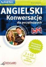 Angielski. Konwersacje dla początkujących (A1-A2). Książka + 2 x płyta CD