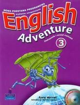 English Adventure 3. Podręcznik i zeszyt ćwiczeń (+DVD)