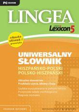 Lingea Lexicon 5. Uniwersalny słownik hiszpańsko-polski, polsko-hiszpański