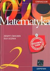 Matematyka. Zeszyt ćwiczeń. Klasa 2, gimnazjum (reforma 2009)