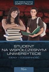Student na współczesnym uniwersytecie. Ideały i codzienność