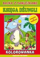 Księga dżungli. Kolorowanka