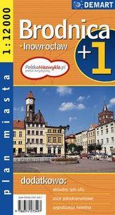 Plan miasta. Brodnica, Inowrocław. Plus1
