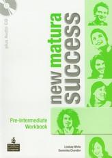 New matura Success Pre-Intermediate. Klasa 1-3, liceum i technikum. Język angielski. Ćwiczenia (+CD)