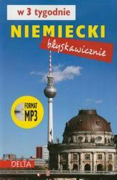 Niemiecki błyskawicznie w 3 tygodnie. Książka + MP3