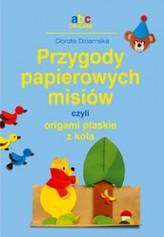 Przygody papierowych misiów, czyli origami płaskie z koła