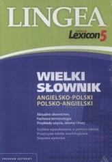 Wielki słownik angielsko-polski polsko-angielski (CD ROM)