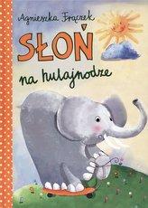 Słoń na hulajnodze