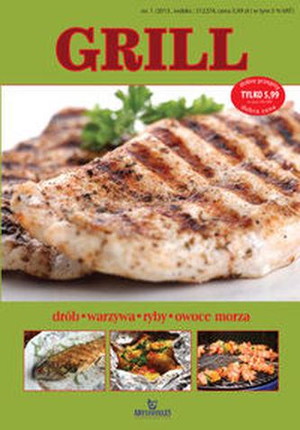Grill. Drób, warzywa, ryby, owoce morza