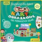 Angielski dla dzieci. Karty obrazkowe. 100 pierwszych zdań (od 6 lat)