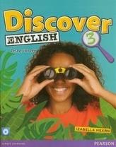Discover English 3. Klasa 4-6, szkoła podstawowa, część 3. Język angielski. Zeszyt ćwiczeń+płyta CD