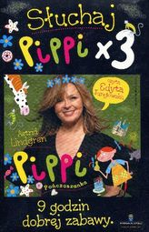 Słuchaj Pippi x 3. Książka audio CD MP3