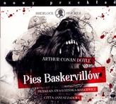 Pies Baskervillów. Książka audio CD MP3