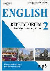 Repetytorium tematyczno-leksykalne. Język angielski. Część 2
