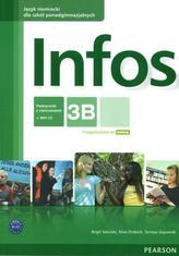 Infos 3B. Szkoły ponadgimnazjalne. Język niemiecki. Podręcznik z ćwiczeniami + CD MP3.