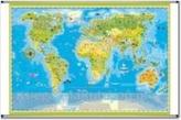 Mapa ścienna zwierzęta świata