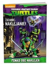 Wojownicze Żółwie Ninja. Ponad 200 naklejek (LAS-601)