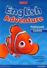 New English Adventure. Starter. Język angielski. Podręcznik + płyta DVD