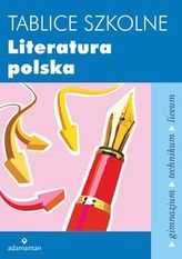 Tablice szkolne. Literatura polska. Gimnazjum / technikum / liceum