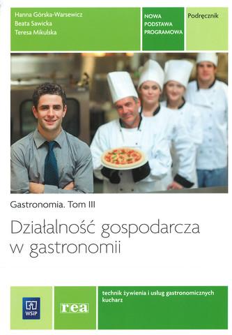 działalność gospodarcza w gastronomii podręcznik pdf