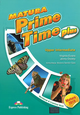 Matura Prime Time plus. Upper Intermediate. Workbook & Grammar Book. Język angielski. Ćwiczenia.