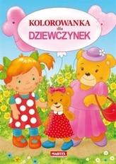 Kolorowanka dla dziewczynek