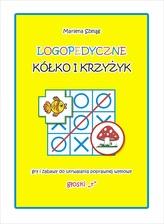 """Logopedyczne kółko i krzyżyk. Gry i zabawy do utrwalania poprawnej wymowy głoski """"r"""""""