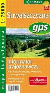 Suwalszczyzna - mapa turystyczna gps