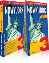 Nowy Jork 3w1, przewodnik+atlas+mapa