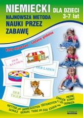 Niemiecki dla dzieci 3-7 lat. Najnowsza metoda nauki przez zabawę. Karty obrazkowe