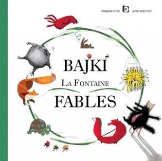 Bajki La Fontaine + CD