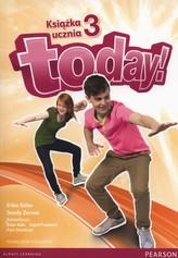 Today! Szkoła podstawowa. Część 3. Język angielski. Podręcznik + CD