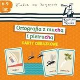 Karty obrazkowe. Ortografia z muchą i pietruchą
